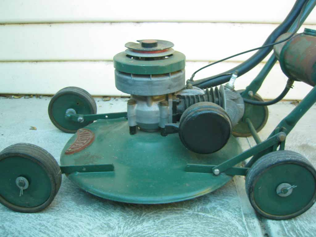 victa pace lawn mower manual