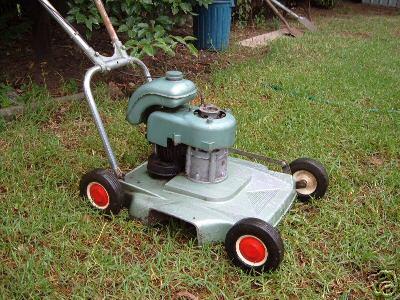 mowers vintage reel lawn