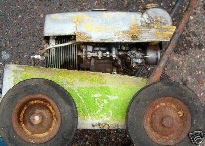 Vintage Mowers Roto Rug