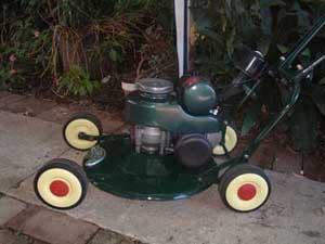 Vintage Mowers Gaz