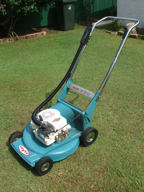 Briggs And Stratton Engine >> Rover regal 18 - Vintage Mowers